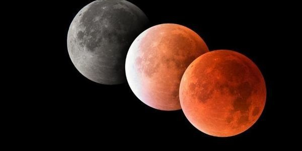 Exactly When You Can See A 100% Red Moon During Sunday's 'Super Wolf Blood Moon' Total Lunar Eclipse