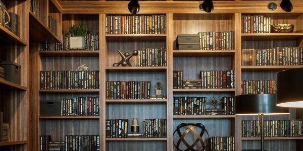Cozy Up With A Browsing Of Residential Libraries Designed By Women