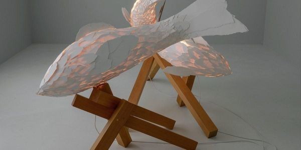 Frank Gehry Work Headlines Gagosian Paris Exhibition for Notre-Dame