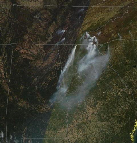 The Meteorology Of Why Atlanta, Georgia Smells Smoke