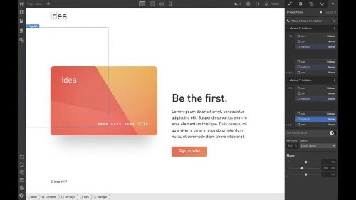 Webflow, The Web Design Amalgam Of WordPress And Photoshop, Releases Interactions 2.0