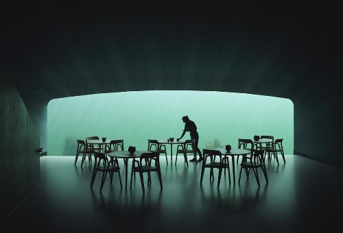 A Meal At Norway's Underwater Restaurant Costs $430 But You'll Have To Wait Six Months For A Table