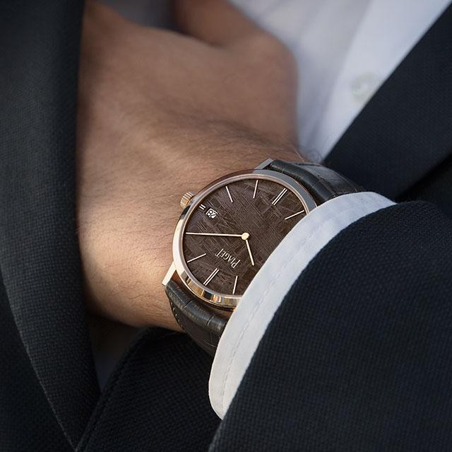 You Can Never Be Too Thin: Piaget's Altiplano Ultra-Thin Classic Watches With Meteorite Dials