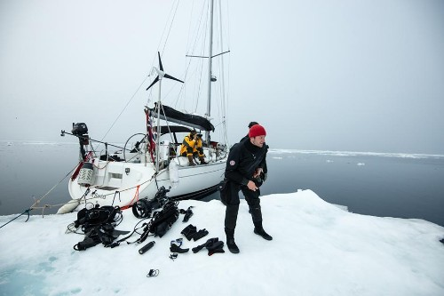 Meet The Modern-Day Viking Who Sails The North Atlantic Researching And Diving With Orca Whales