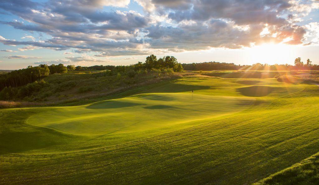 I really, really, really love Golf. - Magazine cover