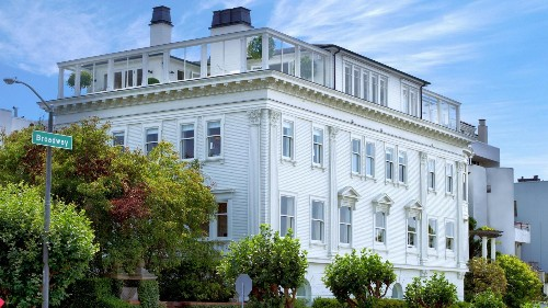 San Francisco's Most Expensive Home Sale In 2015: A $31 Million Mansion With Golden Gate Views