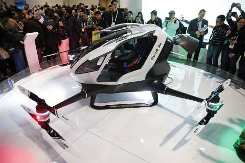 Chinese Startups With Drones, Robots, VR Headsets Take The Spotlight At CES