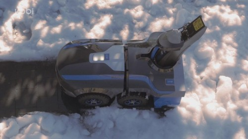 Here's A Robot That Will Mow Your Lawn, Rake Your Leaves, And Shovel Your Snow