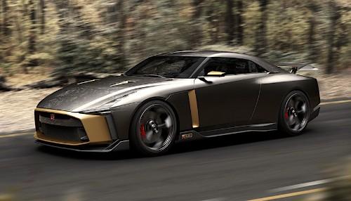 Legendary Italian Designer Joins Nissan To Create Stunning No Limits GT-R50