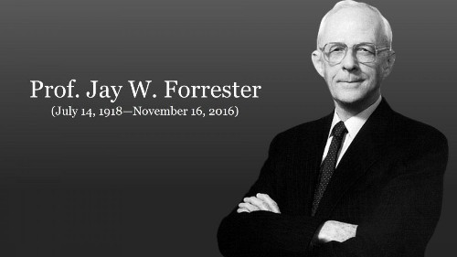 A Genius Has Left Us -- His Name Was Jay W. Forrester