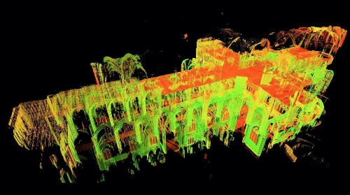 We Have Beautiful 3-D Laser Maps Of Every Detail Of Notre Dame