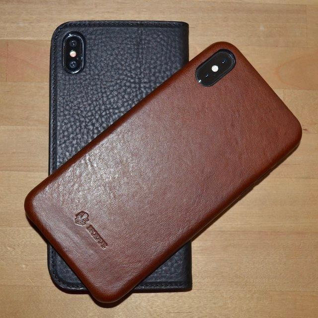 Nodus Shell Case II And Access Case III: Luxurious Leather Cases For Your iPhone