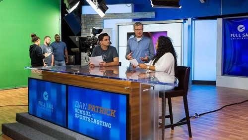 Dan Patrick's Second Life Will Be Creating The Next Gen Of Sportscasters Through College Program