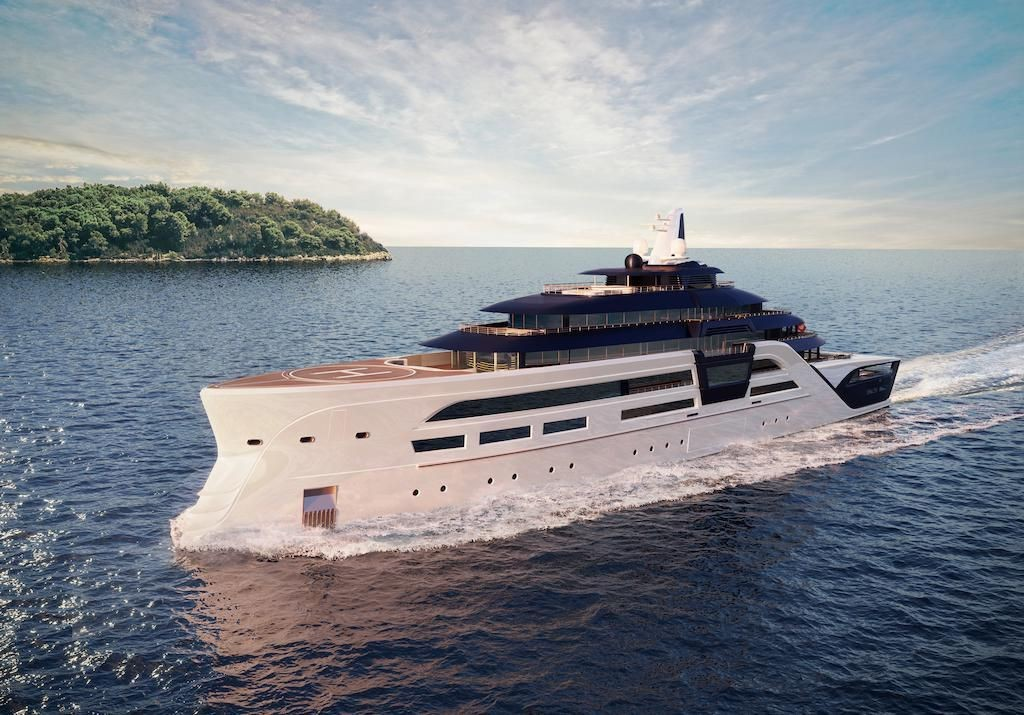 This 311-Foot-Long Superyacht Concept Combines Ultimate Luxury With Diplomatic-Level Security