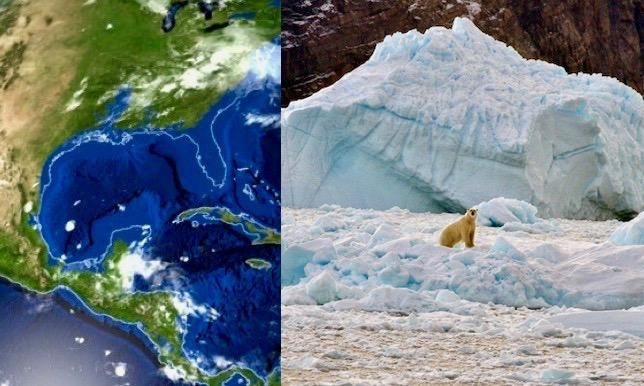 Here's What Earth Would Look Like If All The Ice Melted