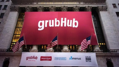 GrubHub Pops 50% As Wall Street Gobbles Up IPO