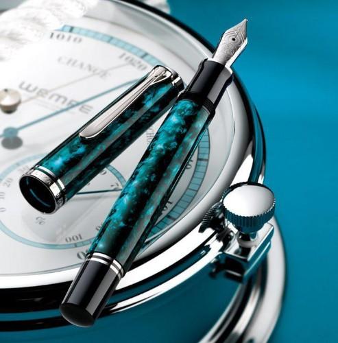 The Ocean Swirl Pen From Pelikan