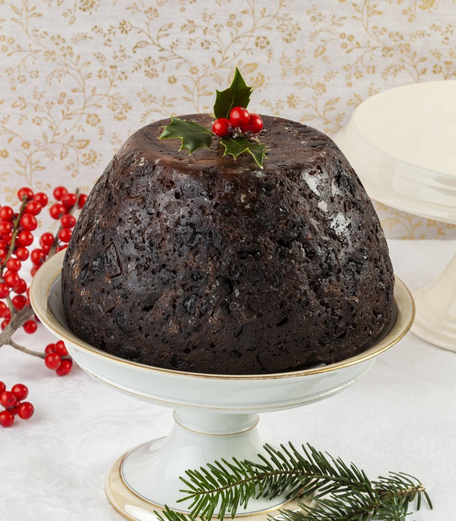A Recipe For Boozy Figgy Pudding For Later; Whiskey Cocoa Bundt Cake For Now