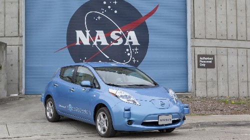 NASA and Nissan Team Up to Build Self-Driving Vehicles for Earth and Mars