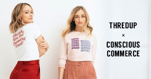 Why You Will Love the thredUP x Olivia Wilde and Conscious Commerce Collab