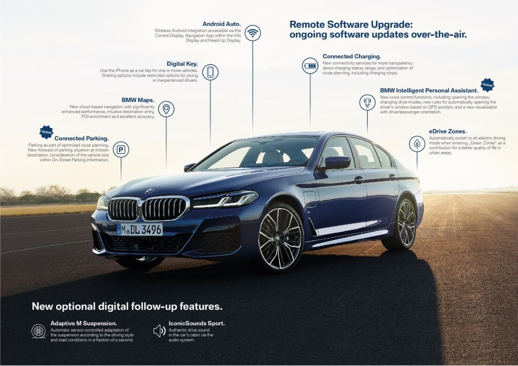 """BMW Now Has Full OTA Update Capability, Many Features Now """"In-App-Purchases"""""""