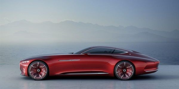 Mercedes' Maybach Of The Future Won't Fit In A Garage