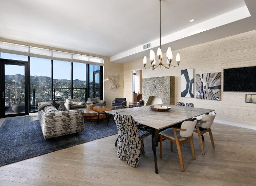 Hollywood's Most Expensive Penthouse Lists For $30,000 Per Month At Historic Columbia Square