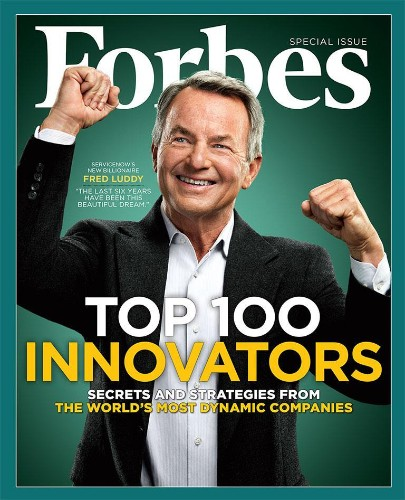 Forbes Releases Eighth Annual List Of The World's Most Innovative Companies
