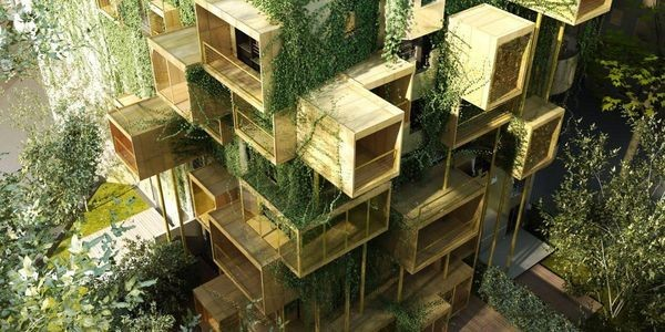 Stephane Malka Architects Plug In Eco-Friendly Extensions Onto A Building Façade In Paris, Part 2
