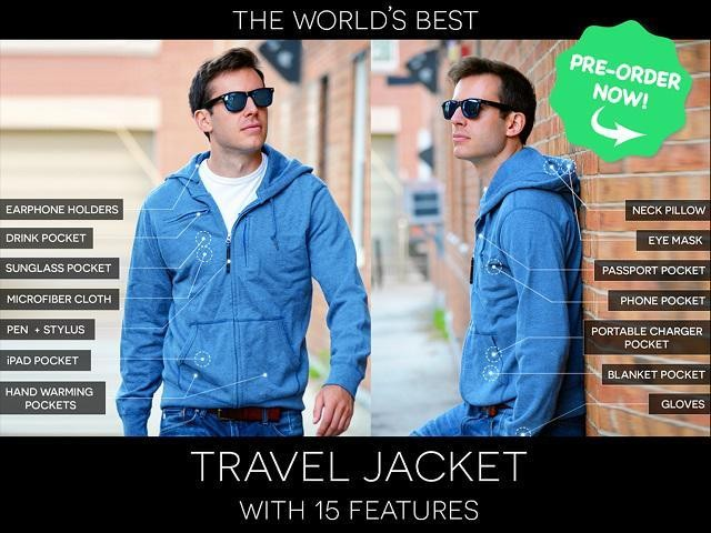 10 Questions I Have About The Surprisingly Travel-Prohibitive $9M Kickstarter Travel Jacket