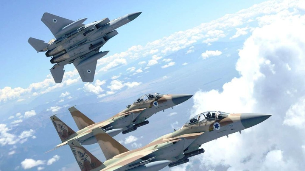 Israel's Air Campaign Against Iran In Syria Continues Unabated