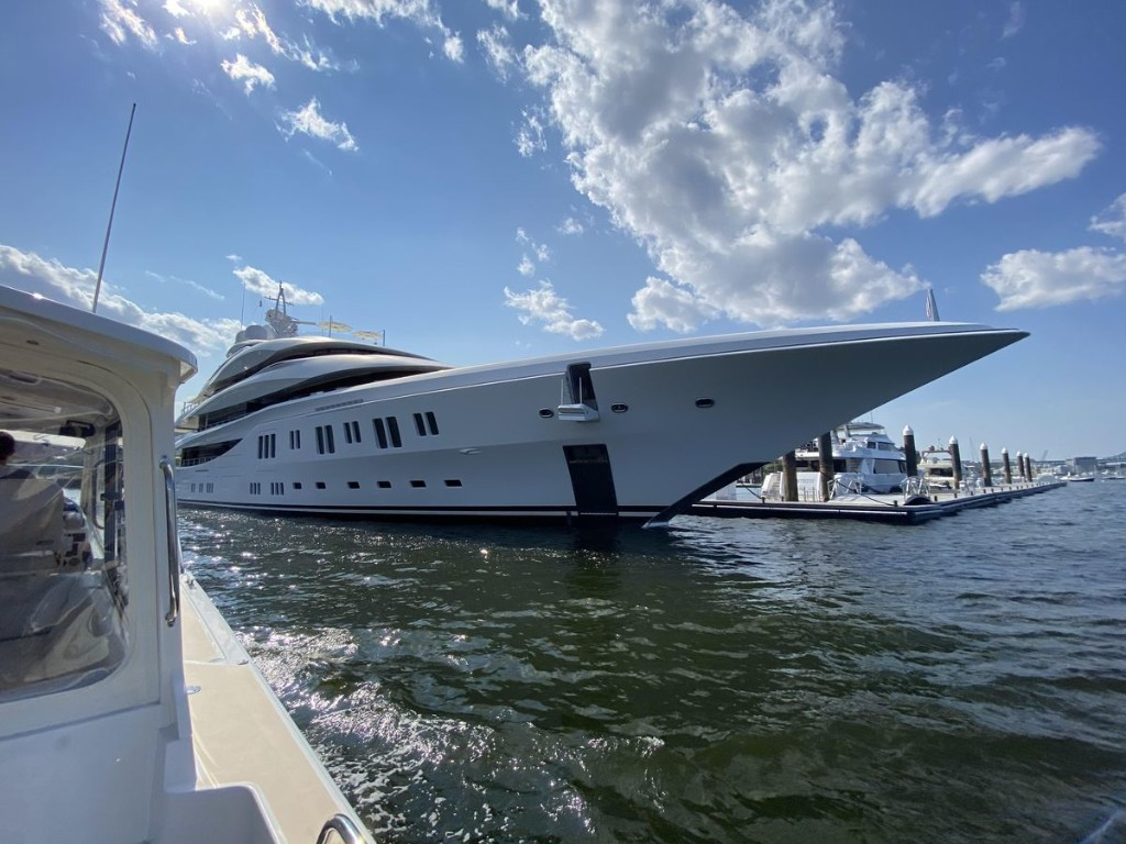 Exclusive Photos Show Summer 'Superyacht Staycations' Make New England The New Hub Of The Superyacht World