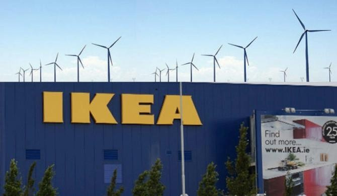IKEA Continues Trend Of Supplying Its Own Renewable Energy