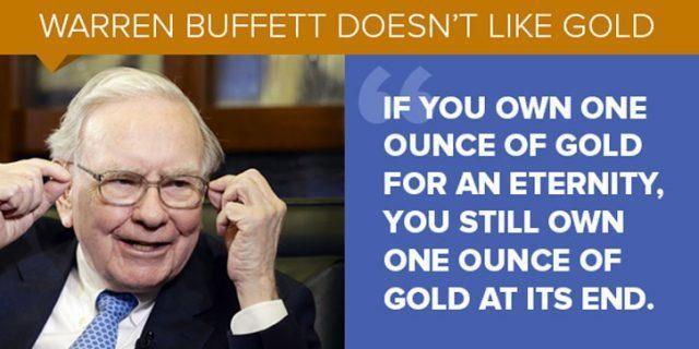 Look Which Precious Metal Is Beating Warren Buffett