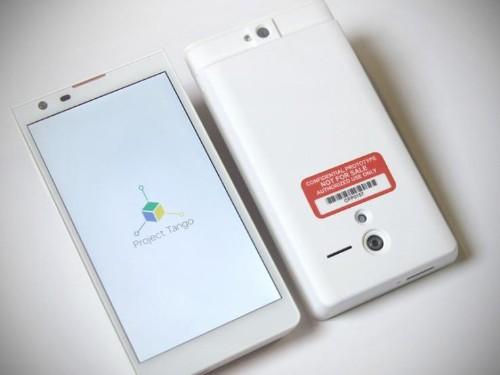 Apple Makes Key Part Of Google's Experimental 'Project Tango' Phone