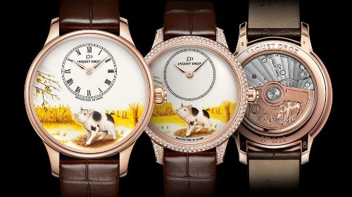 Six Luxury Watch Brands That Celebrate The Chinese New Year With Pig Motifs
