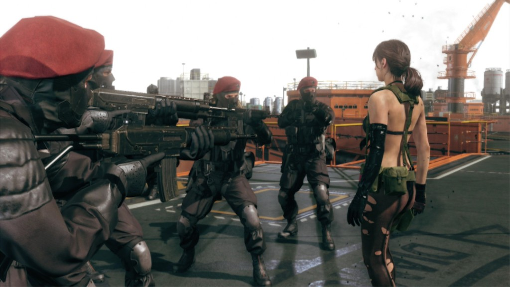 "Metal Gear Solid V "" The Phantom Pain"" - Magazine cover"