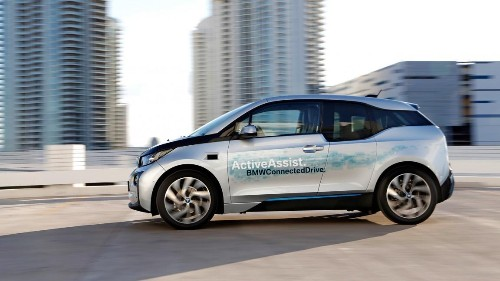 BMW's Self-Driving Car Parks Itself And Picks You Up When You're Ready To Go