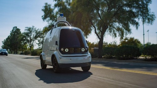 Kroger Is Using Unmanned Autonomous Vehicles To Deliver Groceries In Arizona