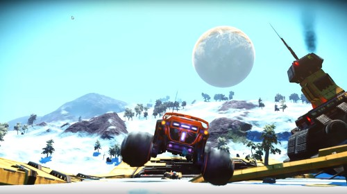 Exocraft Are Taken To Another Level In 'No Man's Sky' Patch 1.63