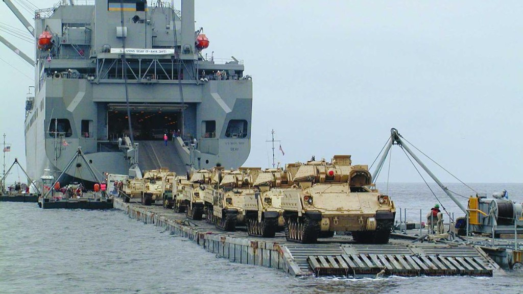 How Does The U.S. Army Expect To Hide A Giant Warehouse Full Of Weapons From China?