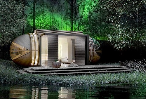 Eco-Luxury Redefined: The Remarkable Portable Hotel Suite