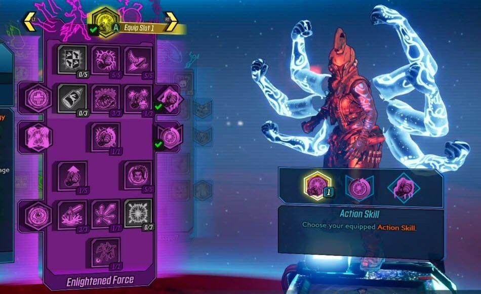 Here's Every Perk From Borderlands 3's New Amara And FL4K Skill Trees