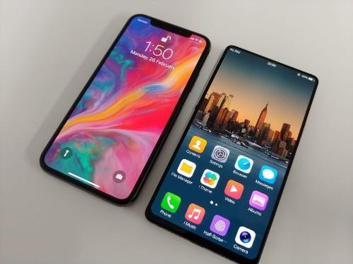 The Vivo Apex's Bezels Make The iPhone X's Bezels Look Fat