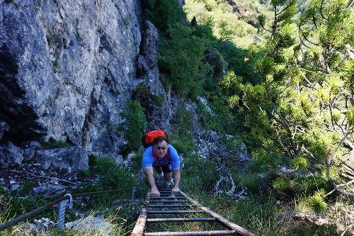 The Next Big Thing: Climbing WWI Metal In The Dolomites