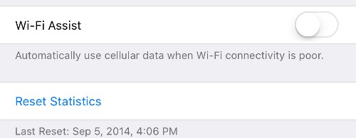 Apple Explains Why Wi-Fi Assist Should Not Be Causing Data Overage Charges