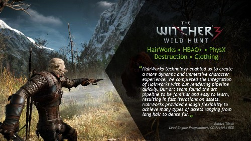 [UPDATED] AMD Is Wrong About 'The Witcher 3' And Nvidia's HairWorks