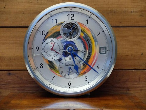 Bremont Teams with The Rolling Stones' Ronnie Wood for Hand-Painted B1 Marine Chronometer Clock