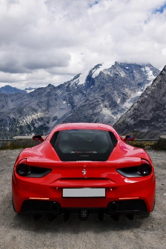 Driving A Supercar Through The Swiss Alps