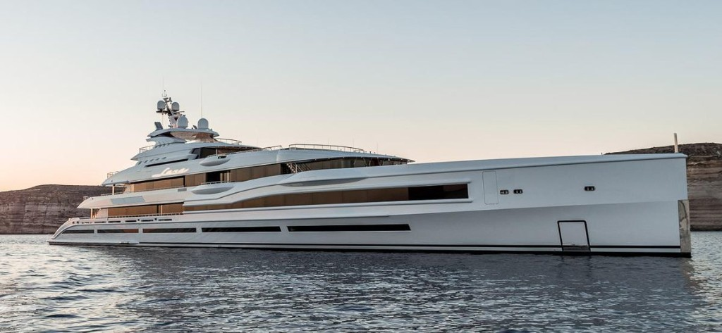 What's The Inside Of A 350-Foot-Long Superyacht That Charters For Over $2 Million Per Week Really Like?